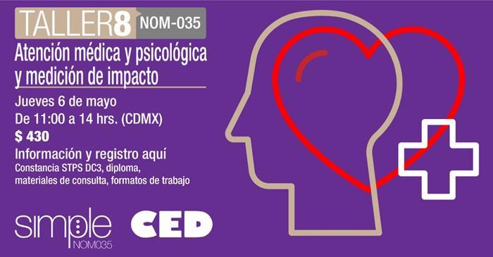 Taller 8 Atención médica y psicológica y medición de impacto