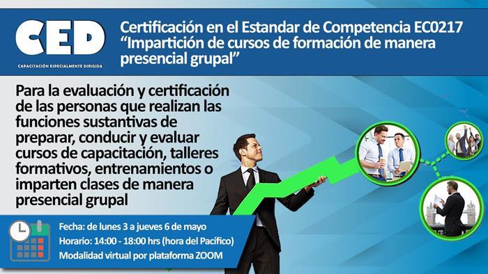 Certificación en el EC0217