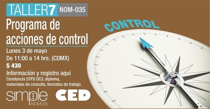 Taller 7 Programa de acciones de control