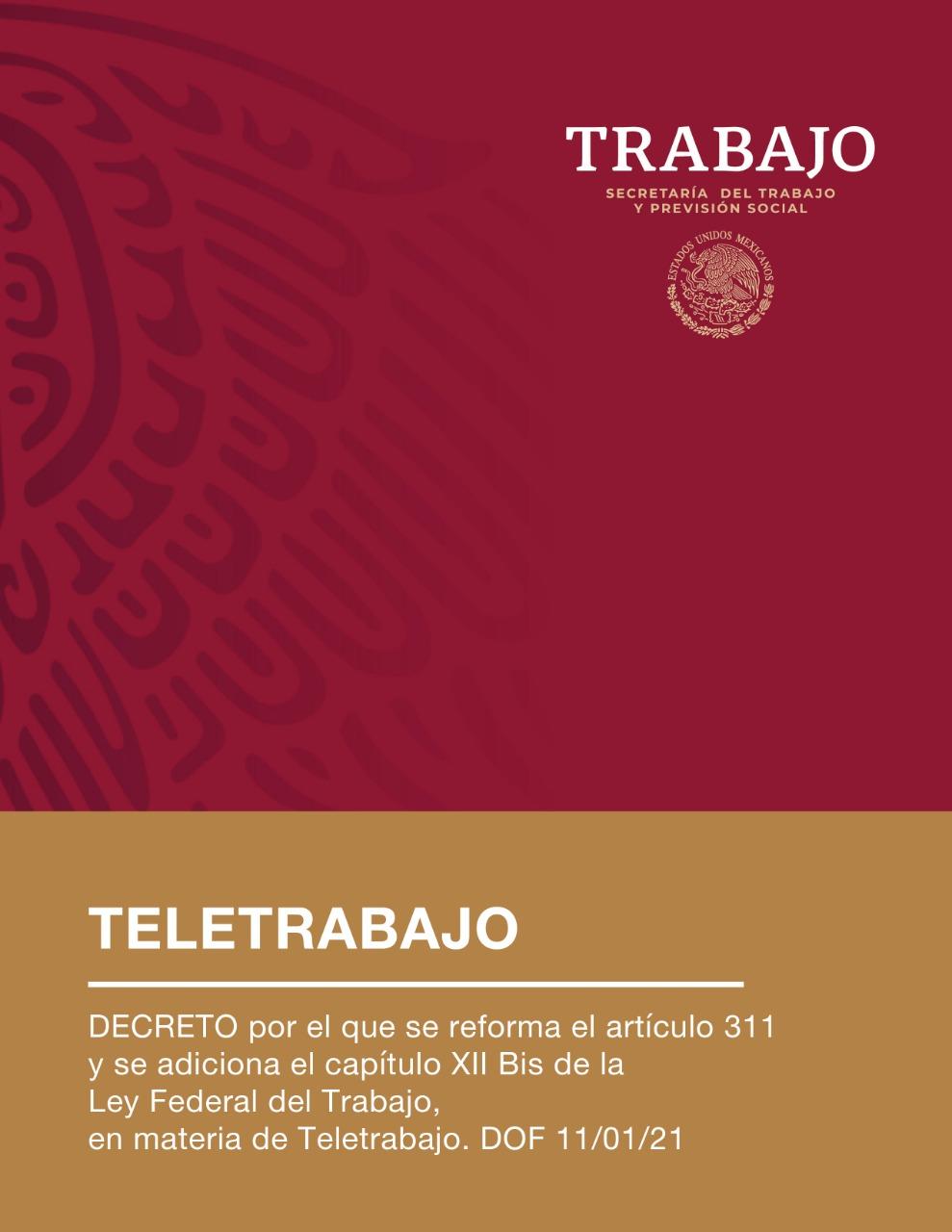 Reforma a la Ley Federal del Trabajo en materia de Teletrabajo