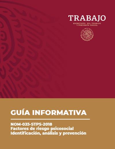 Guía informátiva NOM-035 STPS