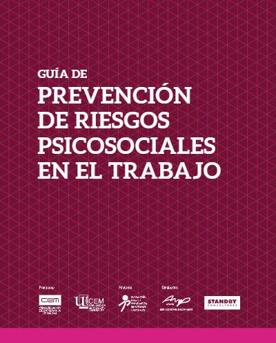 GUÍA DE PREVENCIÓN DE RIESGOS PSICOSOCIALES EN EL TRABAJO